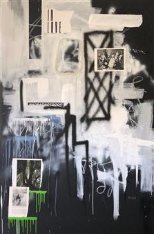 William Atkinson - Precious Minutes Mixed Media on Canvas, Mixed Media