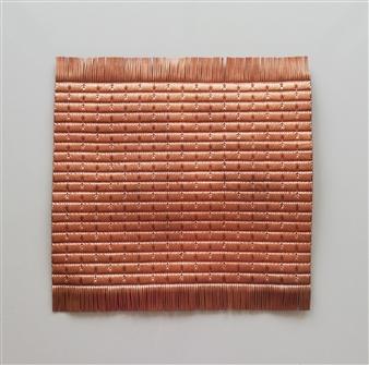Andrea Collante - CTG0618-20 Mixed Media Textile, Mixed Media