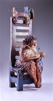 Martha Jimenez - My Mother's Eagerness Ceramic, Sculpture