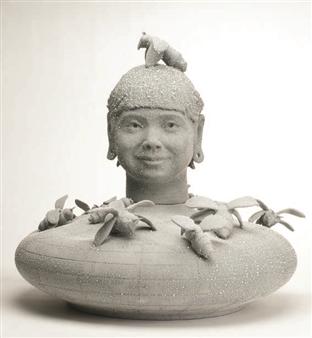 Susan Kadish - 6443 Stoneware, Sculpture
