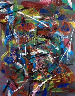 Sylvain Boisjoly - Chaos Acrylic on Canvas, Paintings