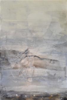 Graciela Garza - Ethereal 1 Acrylic on Canvas, Paintings