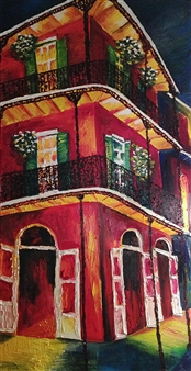 Kristina Arntz - New Orleans Oil on Canvas, Paintings
