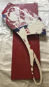 Craig Freeman - Americana Acrylic, Chipboard, Metal Wire, Sculpture