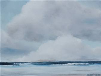 Elizabeth Sabine - Seascape No. 68 Oil on Canvas, Paintings
