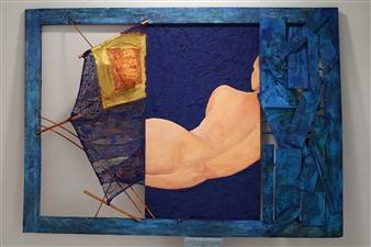 Ignatius - Angela, the Mermaid Mixed Media, Mixed Media