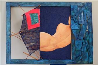 Ignatius - Angela, the Mermaid Mixed Media, Mixed Media