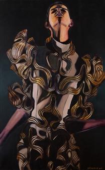 Britt-Marie Tidemand - Enlightening Oil on Canvas, Paintings