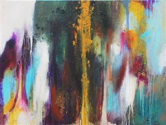 Saurabh Mohan - Soulscape 7 Acrylic on Canvas, Paintings