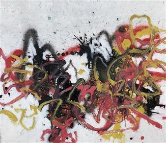Marek Wasylewicz - Sun 2 Acrylic & Oil on Canvas, Paintings