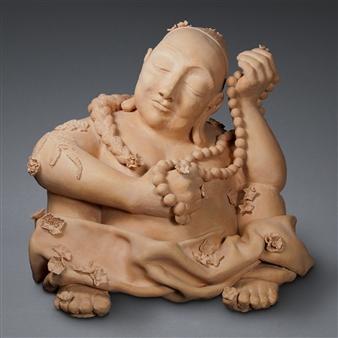 Susan Kadish - 4175 Stoneware, Sculpture