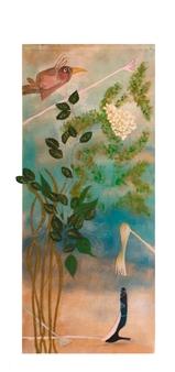 Mar De Redin - La Suerte en el Culo_B1 Acrylic & Mixed Media on Linen Canvas, Mixed Media