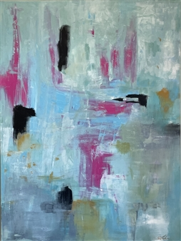 Kate Robinson - Fun-Loving Acrylic on Canvas, Paintings
