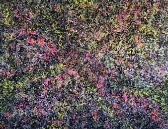 André Bakoš - Untitled 8 Acrylic on Canvas, Paintings