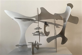 Joanne Syrop - Opus 10 Steel, Sculpture