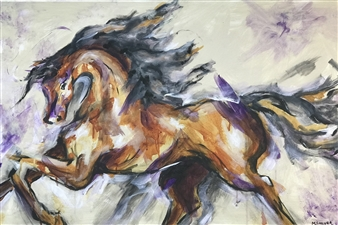 Margaret Culver - Libre Acrylic on Canvas, Paintings