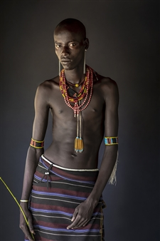 Safaa Kagan - Karo Man Archival Pigment Print, Photography