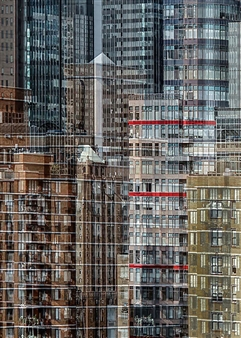 Shifra Levyathan - City Density 12 Digital C-Print, Photography