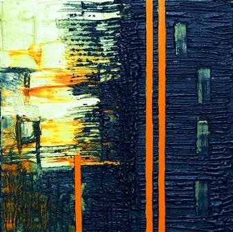 Alexey SAVART - The Border of the Night Volumetric Copyright Technique, Paintings