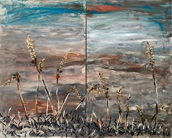 David Lionheart - Dune Acrylic on Canvas, Paintings