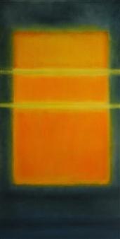 María de Echevarría - Field of Light Oil over Acrylic on Canvas, Paintings