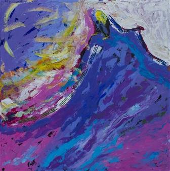 Doofan Kwaghhool - The Moments Acrylic on Canvas, Paintings