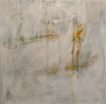 Gia A Sabatini - Untitled Mixed Media & Acrylic on Canvas, Mixed Media