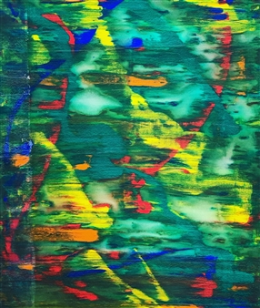 Ulrich T. Grabowski - REM Phase Acrylic on Canvas, Paintings