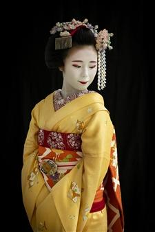 Safaa Kagan - Maiko in Kyoto Archival Pigment Print, Photography