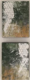 Mona Taqi - Winter Garden Acrylic on Canvas, Paintings