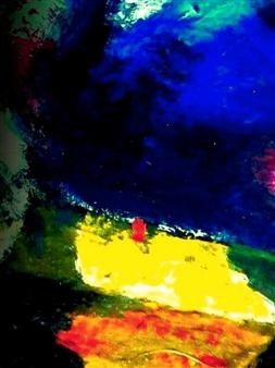 Babis (Bujar) Arizi - Untitled 5 Oil on Canvas, Paintings