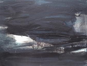 Makoto Oshima - No. 210303 Acrylic on Canvas, Paintings
