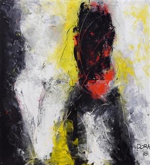 Vasant Dora - Untitled 01 Oil on Canvas, Paintings