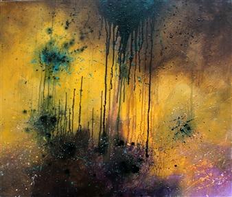 Saurabh Mohan - Resurrection 5 Acrylic on Canvas, Paintings