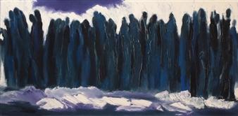 María de Echevarría - Resilience Oil on Canvas, Paintings