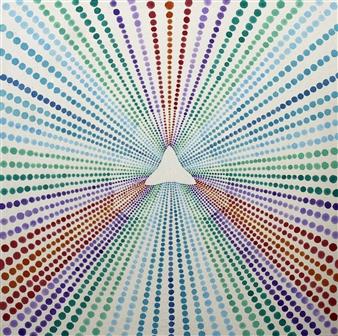 Alan Lacke Cairo - The Flower Acrylic on Canvas, Paintings