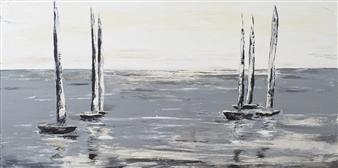 Arttiana - Lightness Oil on Canvas, Paintings
