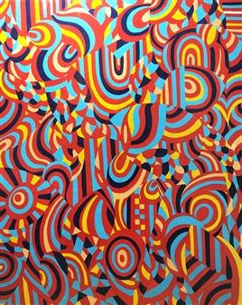 Hiroko Saigusa - 2016IR Acrylic on Canvas, Paintings