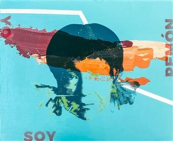 Orianna Montenegro - Yo soy Pemon Acrylic & Mixed Media on Board, Mixed Media