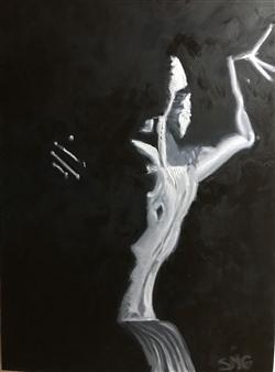 Silvia Mónica Giammatteo - Desde la Penumbra Oil on Canvas, Paintings