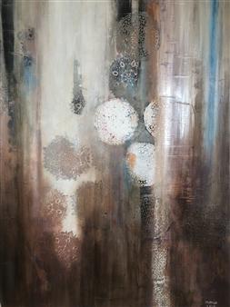Mona Taqi - Memories Acrylic on Canvas, Paintings