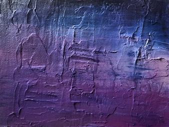 Konka - Empty Life Acrylic & Texture Paste on Canvas, Paintings