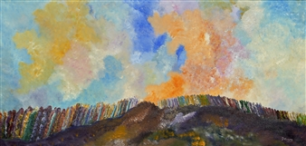 Joe Koury - Indian Summer Acrylic on Canvas, Paintings