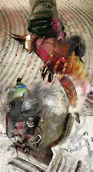 Andrew Knox - Metamorphosis Digital Collage, Digital Art