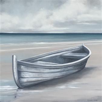 Elizabeth Sabine - Beached Oil on Canvas, Paintings