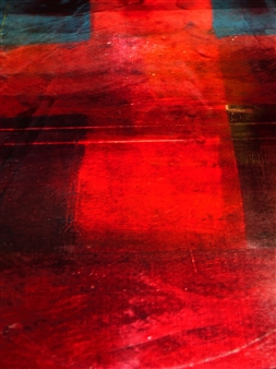Gatscher<br /> von Burgsdorff - Cross Road Digital Photo Painting on AluDibond, Photography