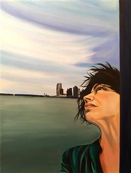 Rebecca Stenn - Missing New York Acrylic on Canvas, Paintings