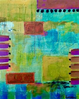 Paul Kittlaus - Untitled #173 Acrylic on Canvas, Paintings
