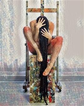 Alexander Pepe Roiz - All of Me Oil on Canvas, Paintings