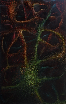 Samuel Lehikoinen - It Came From My Brain Pastel on Board, Paintings